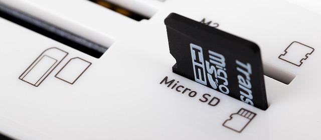 Las tarjetas SD permiten ampliar el espacio de Almacenamiento